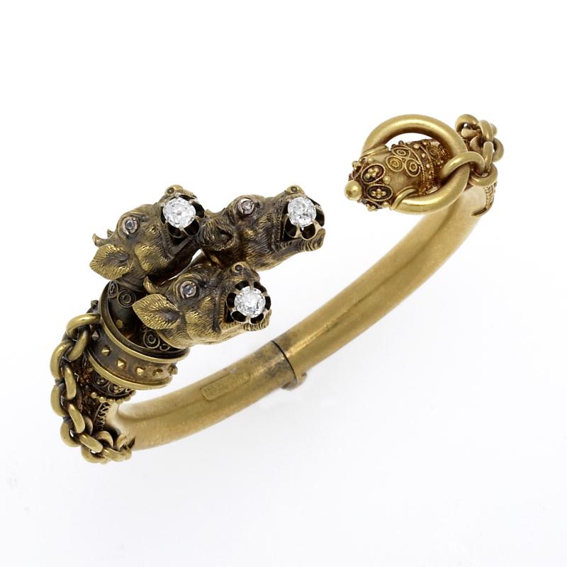 Antique Gold, Diamond, and Silver Jewelry in Boston